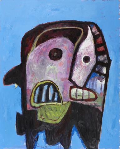 Kopfbild/Masker