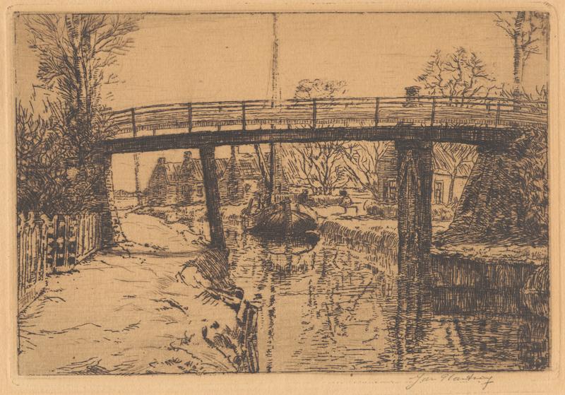 De hoge brug