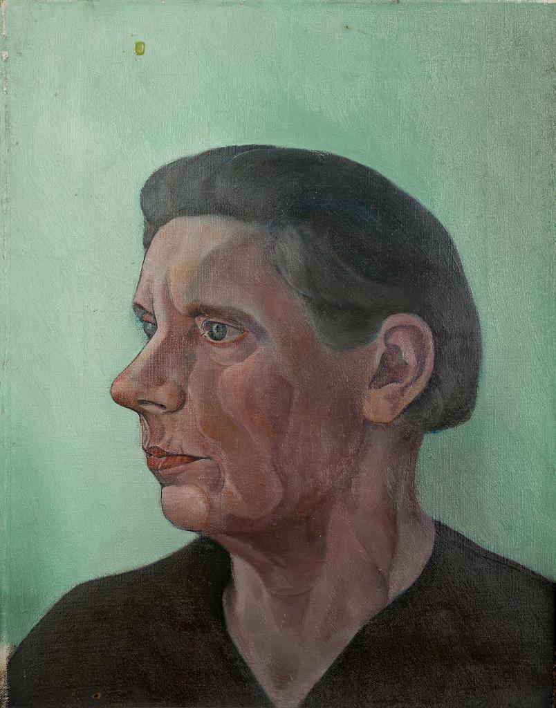 Een portret van mevr Rinsema-De Vrieze
