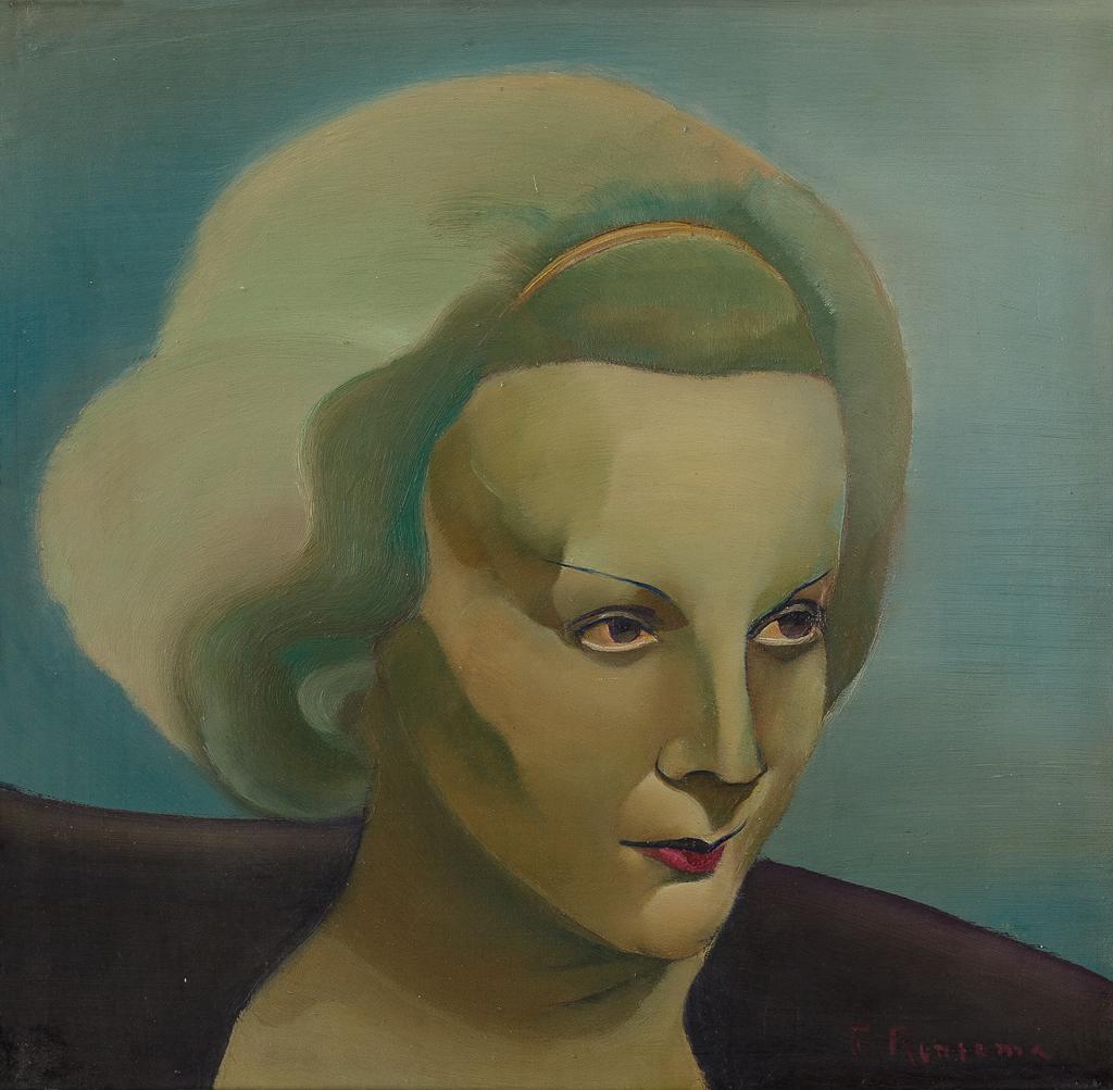 Een portret van Marlene Dietrich