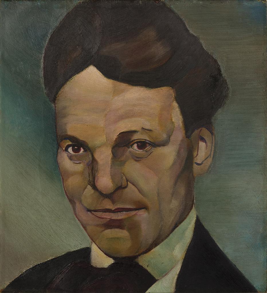 Een portret van Kurt Schwitters