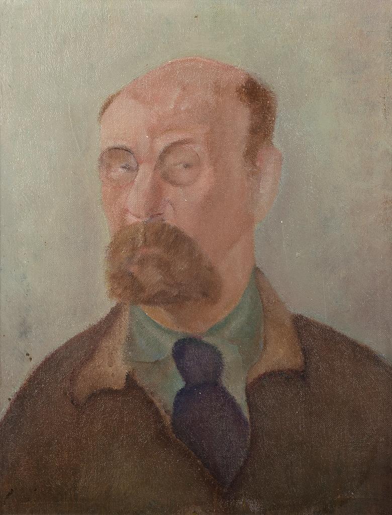 Zelfportret met stropdas