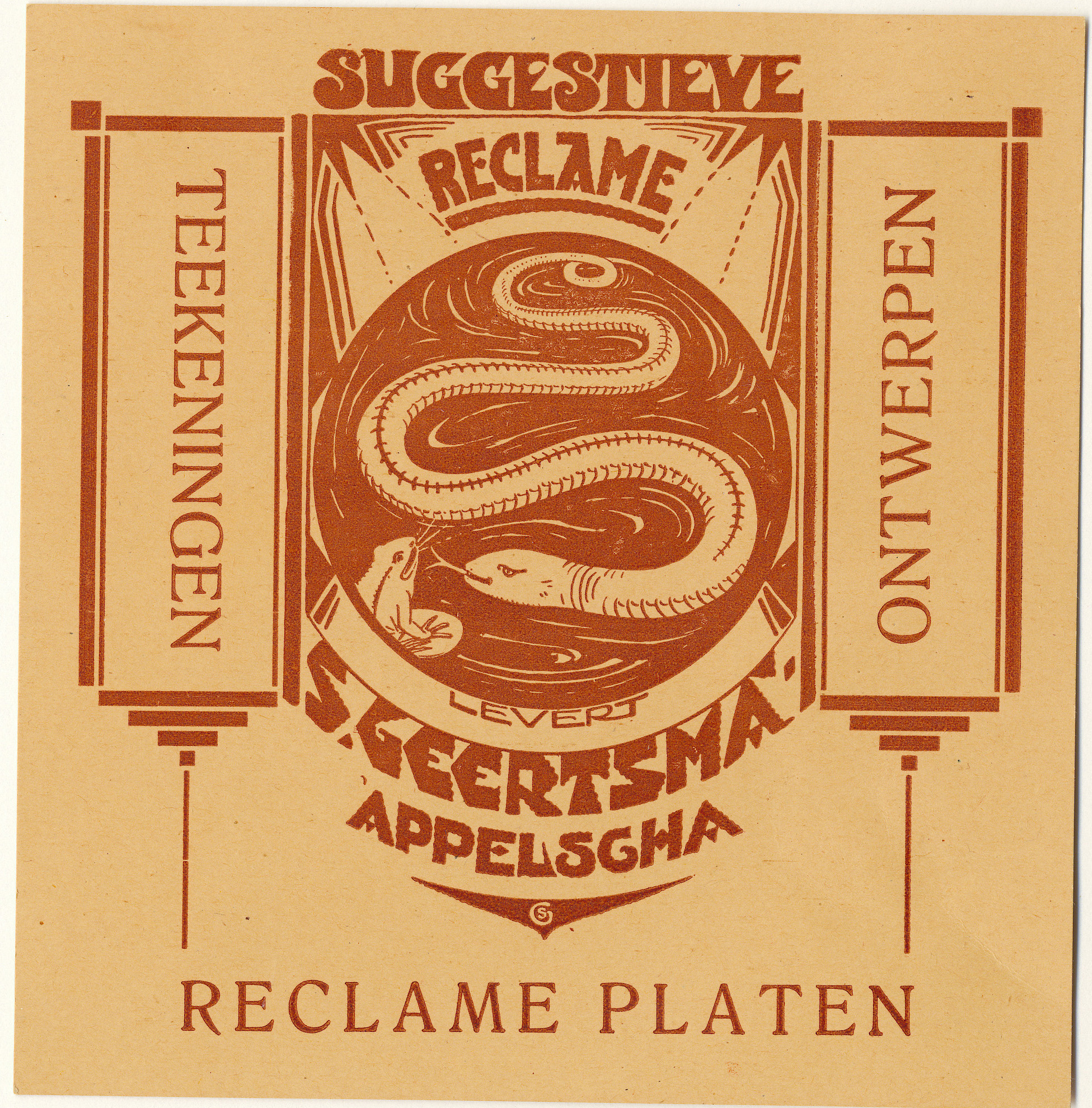 Folder Suggestieve Reclame, 1923-1940