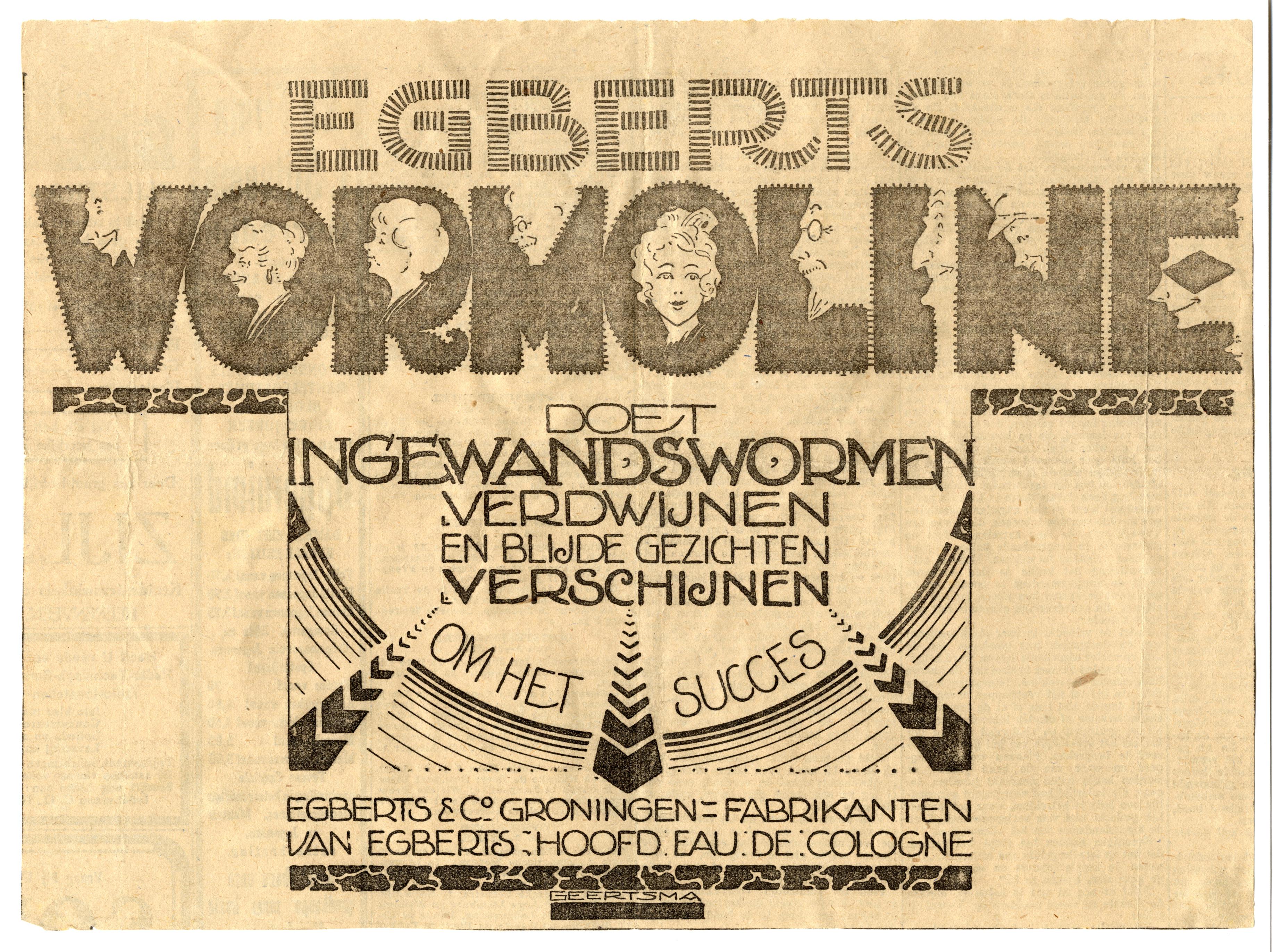 Wormoline Egberts en Co, Groningen