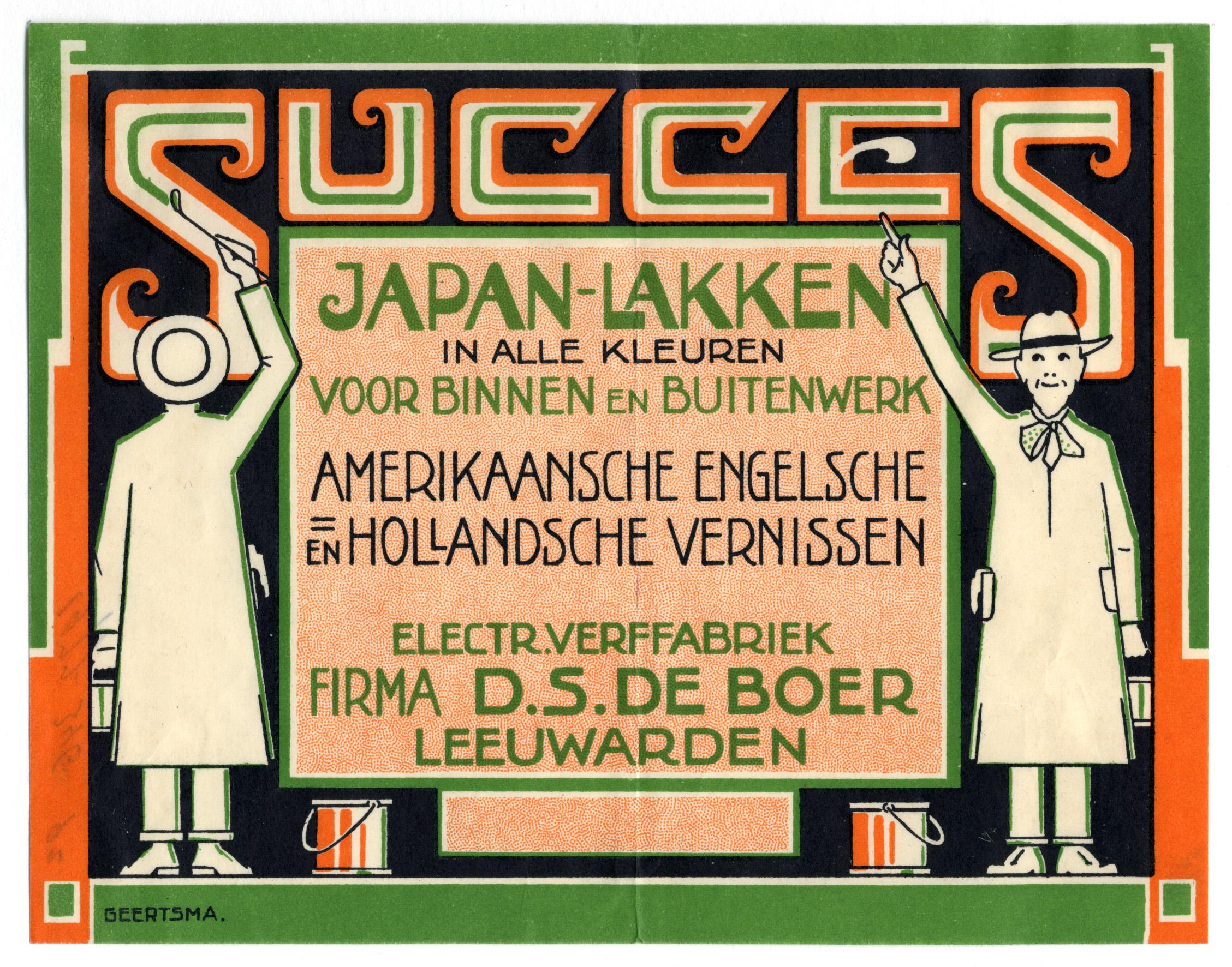 Succes Japan Lakken