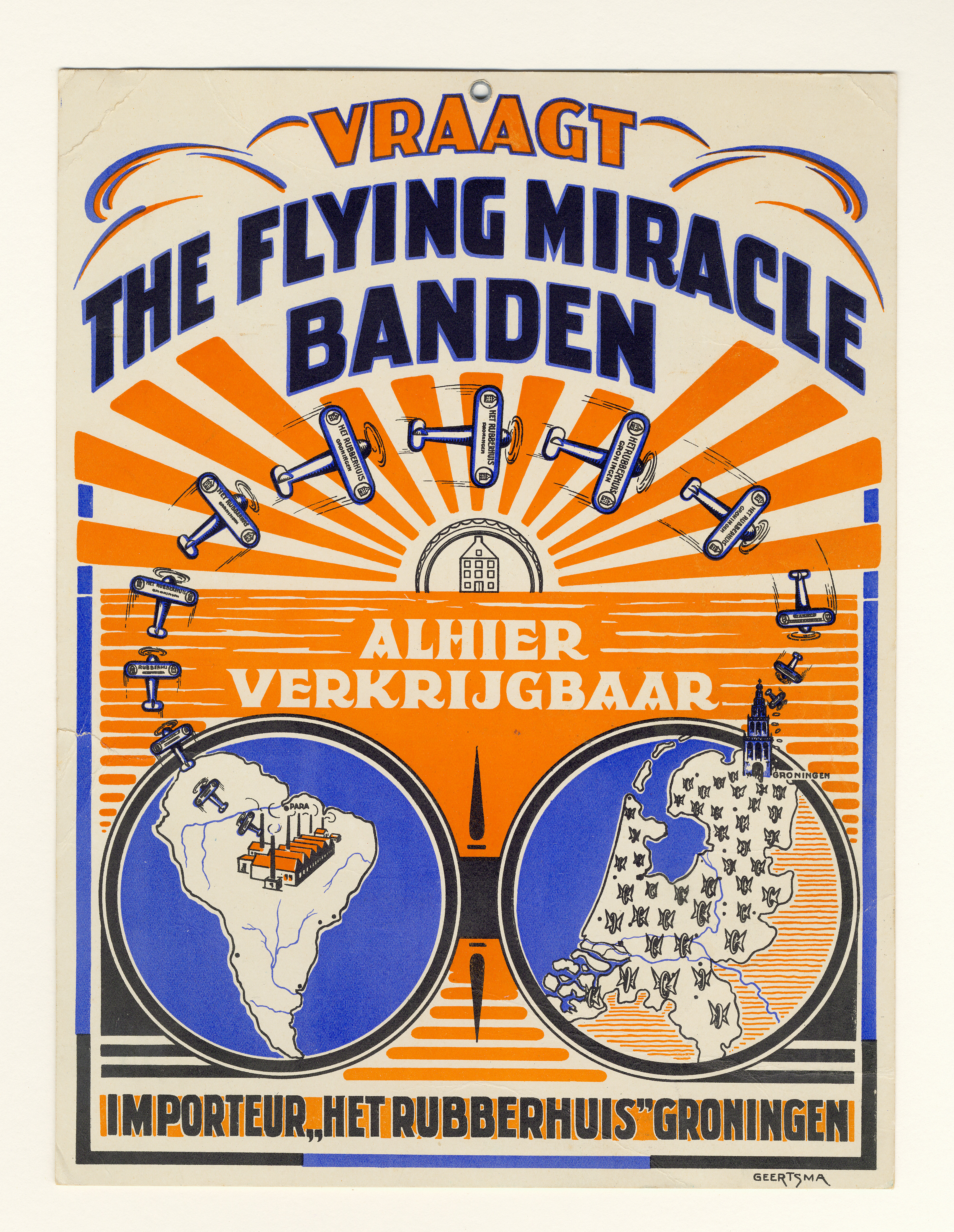 The Flying Miracle Banden