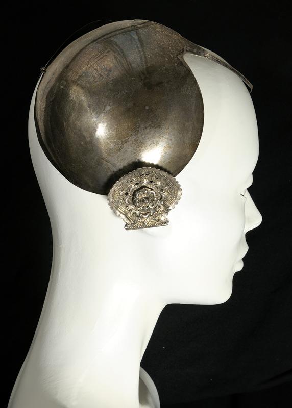 Zilveren oorijzer
