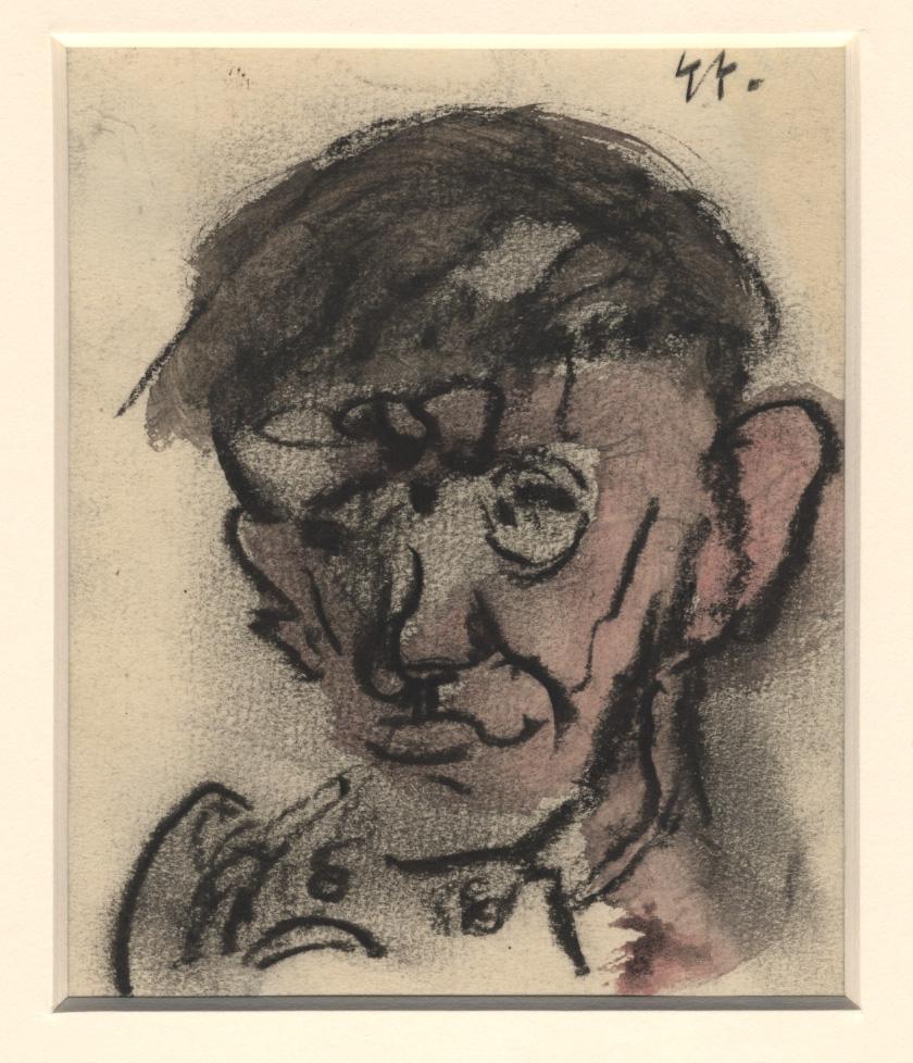 Een portret van een patiënt