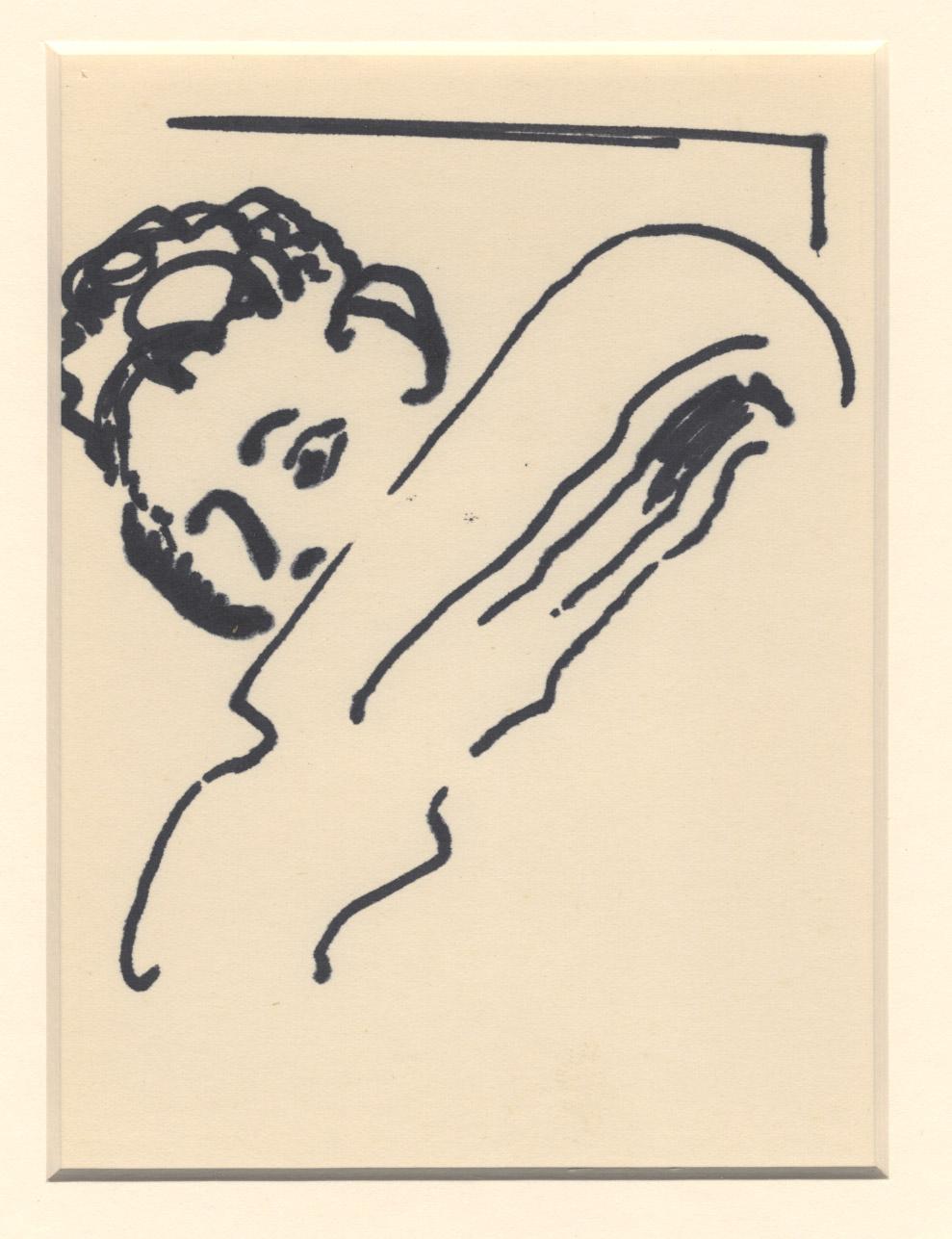 Het portret van een patiënt die in bed ligt