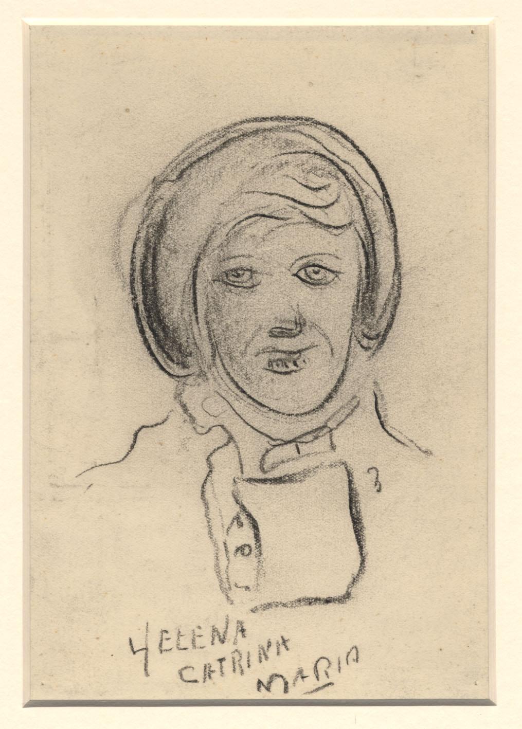 Portret van Helena Catrina Maria