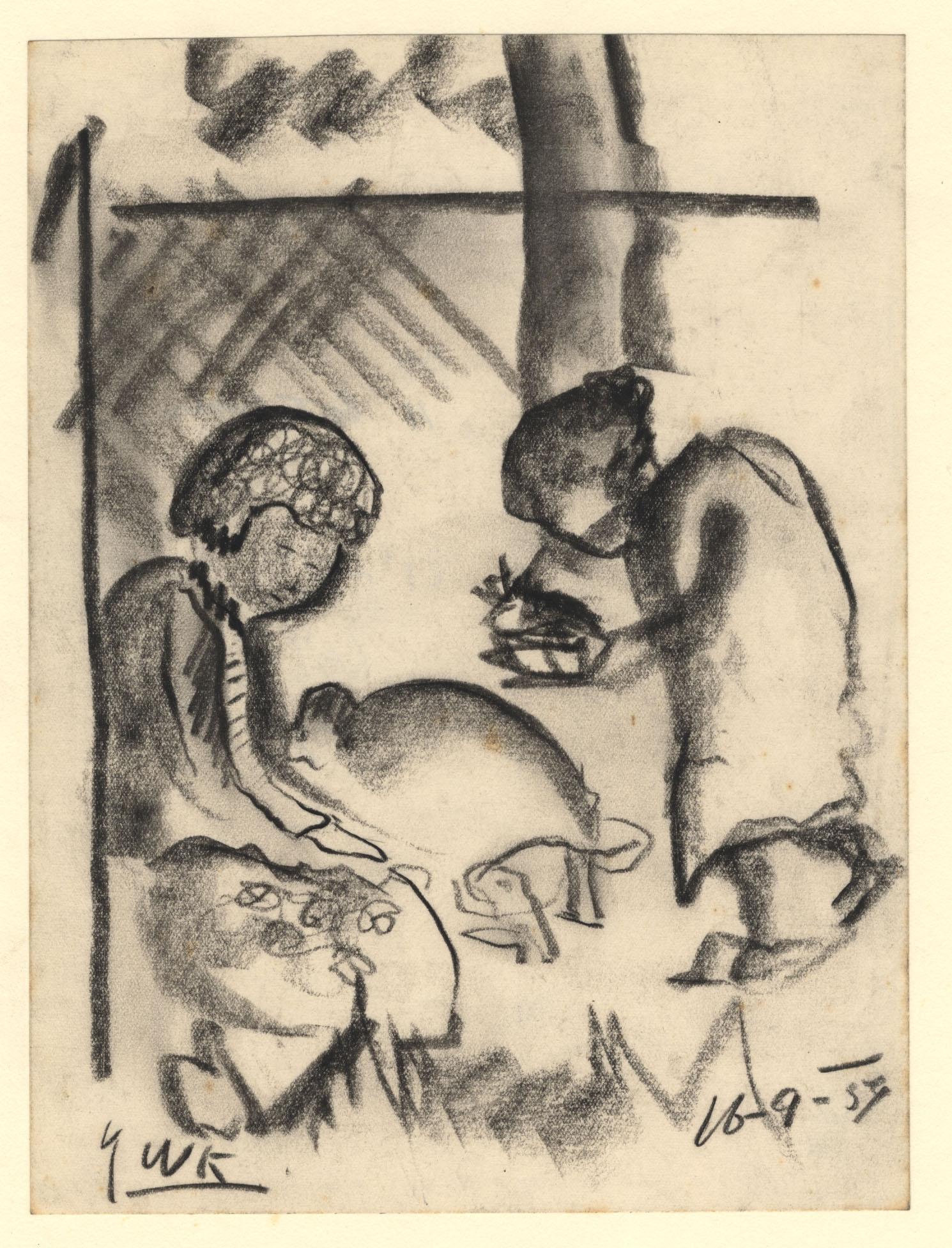 Drie vrouwelijke patiënten