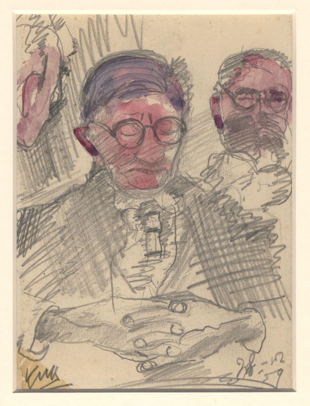 """Portret van een """"stille""""patiënt"""