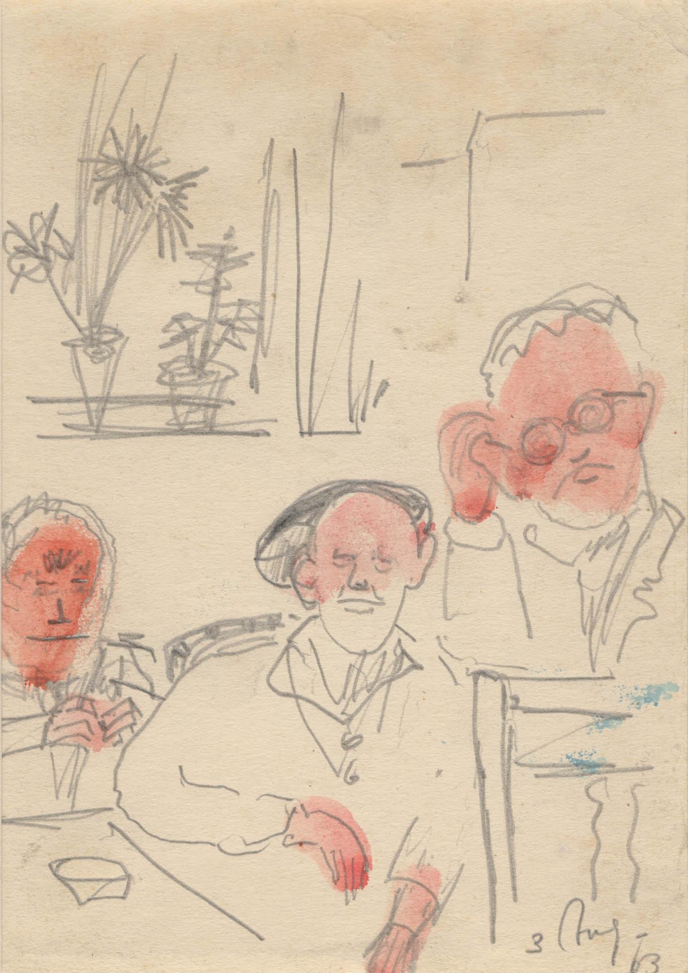 Drie patiënten