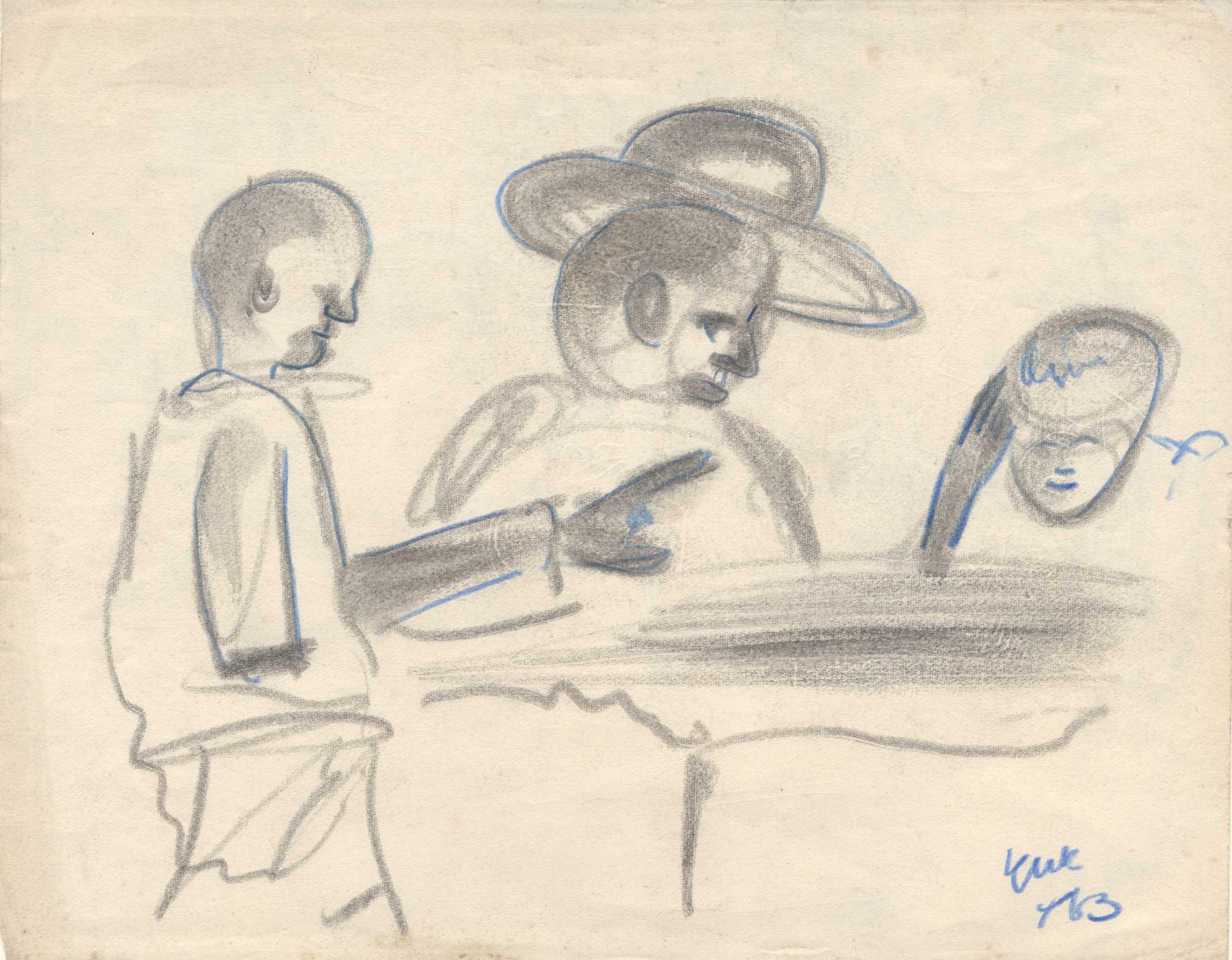 Drie personen