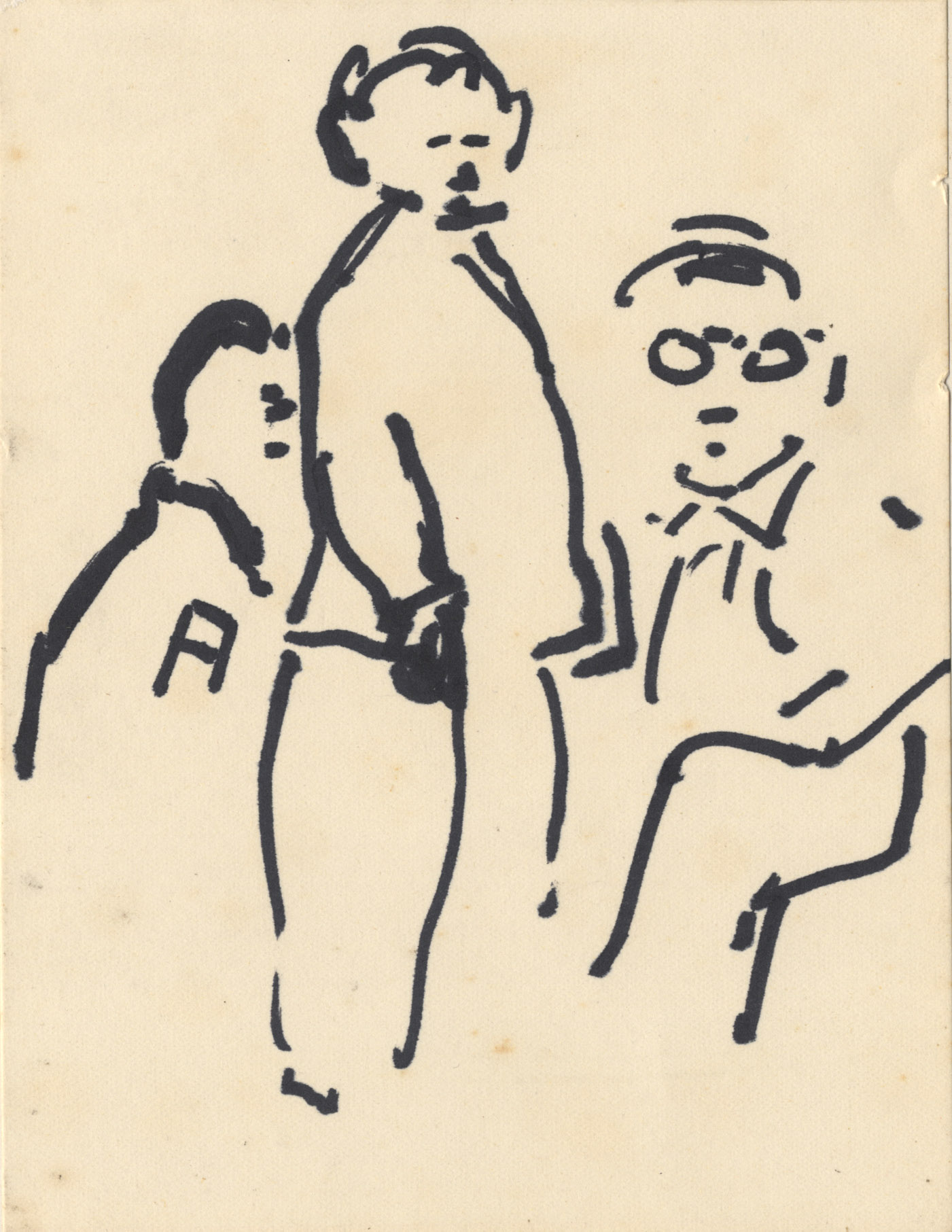 Drie mannen