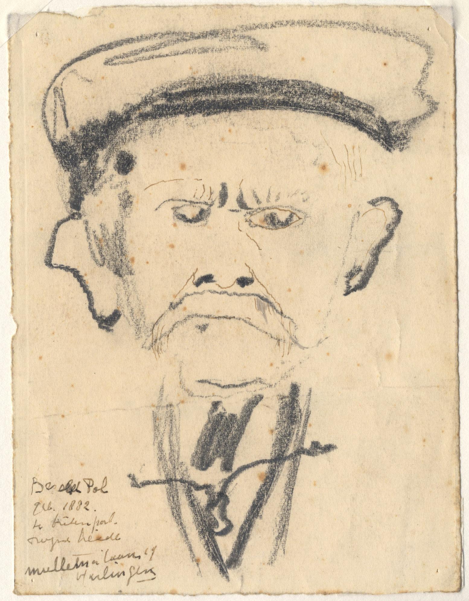 Het portret van de heer B Pol