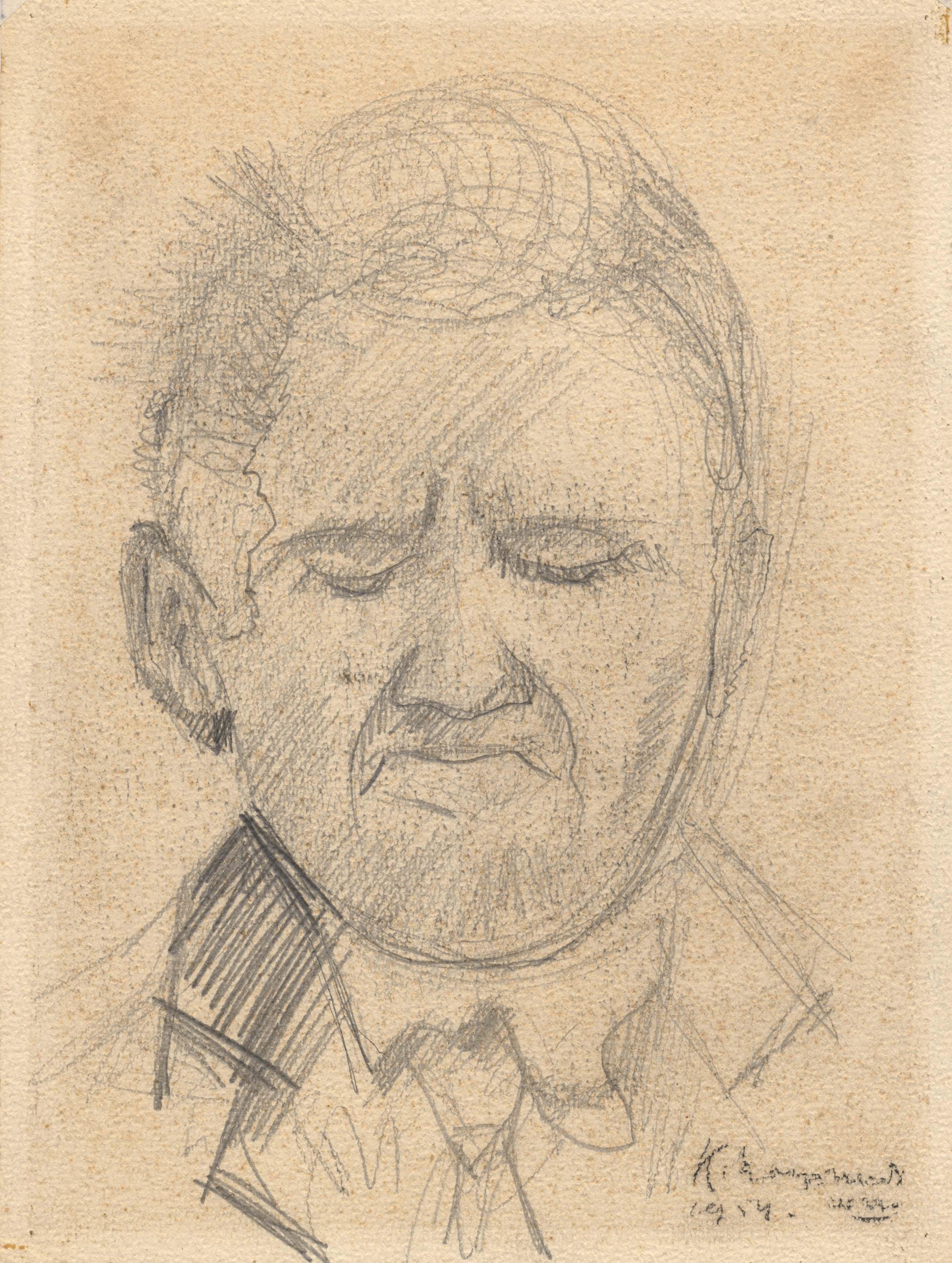 Een portret van een man