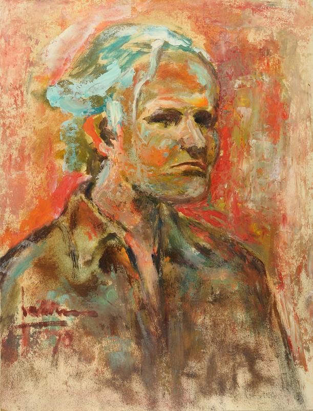 Zelfportret, 1970