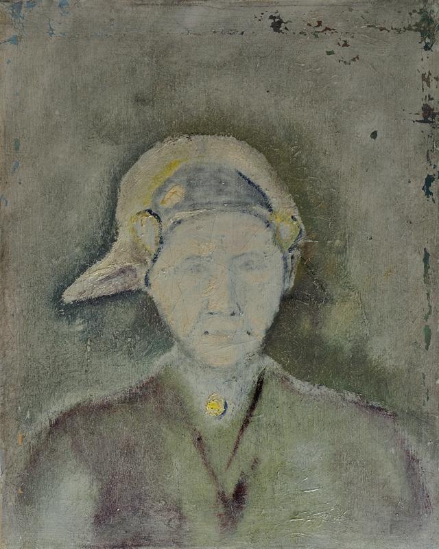 Een portret van een vrouw met friese kap