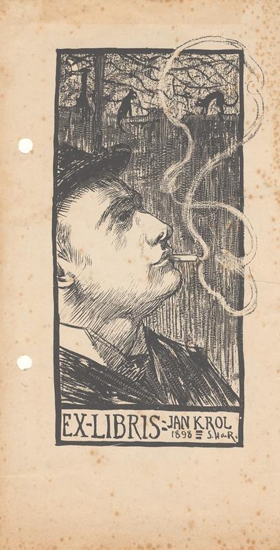 EX-LIBRIS-Jan Krol 1898
