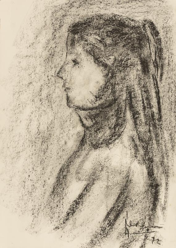 Portret van een meisje, 1972