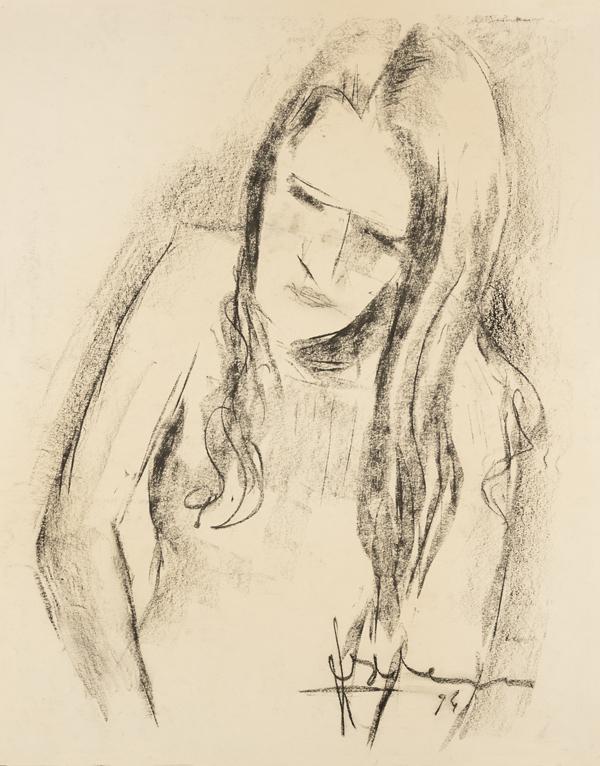 Portret van een meisje, 1974