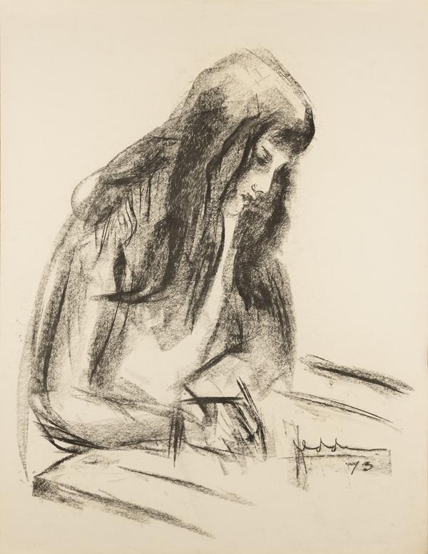 Meisje met lang haar, 1973