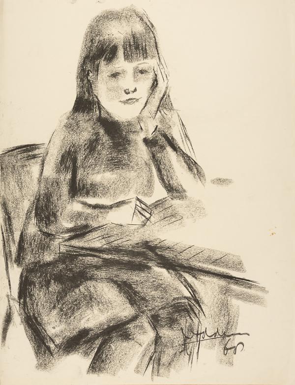 Portret van een meisje, 1968