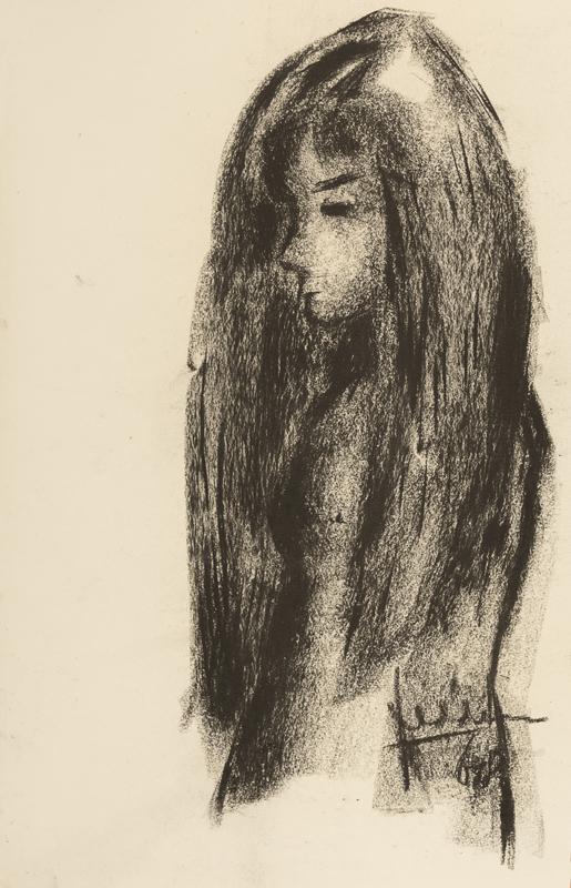 Meisje met lang haar, 1968