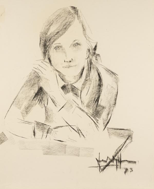 Portret van een meisje, 1973