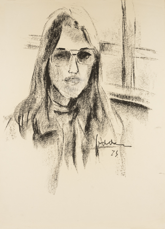 Meisje met bril,1974