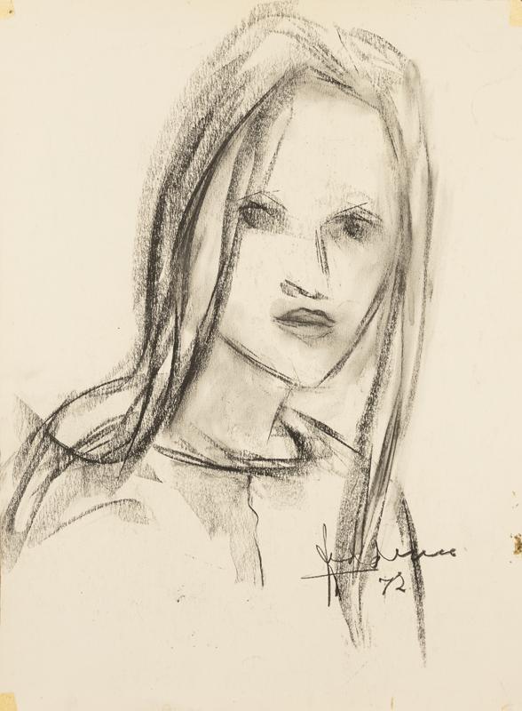 Meisje met lang haar, 1972