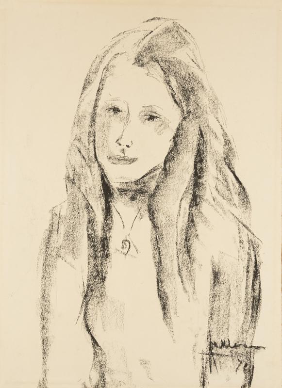 Meisje met lang haar, 1971