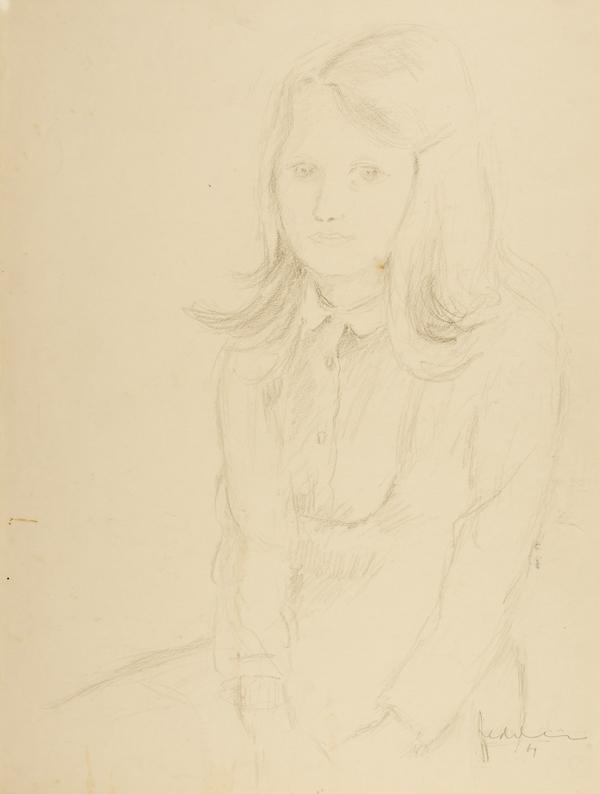 Portret van een meisje, 1969