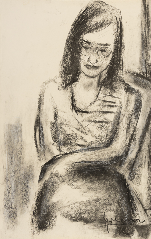 Meisje met bril, 1972