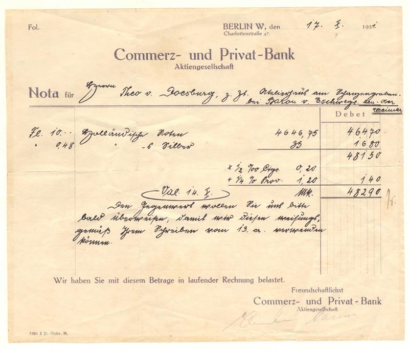 Nota Commerz- und Privat-Bank