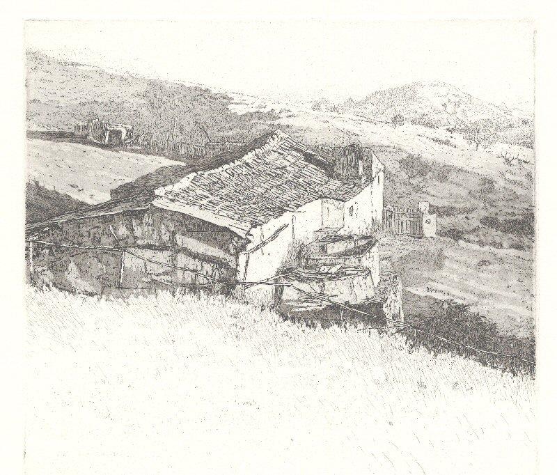 Huis in de heuvels