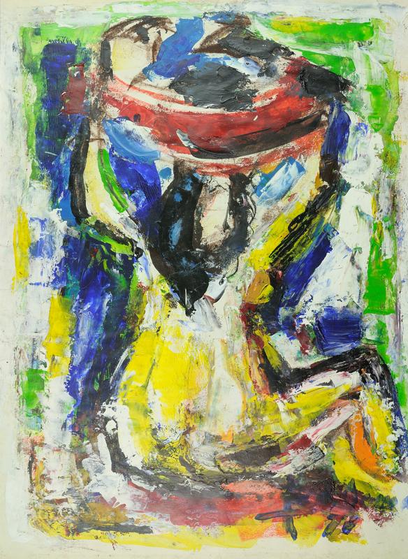 Vrouw met schaal, 1978