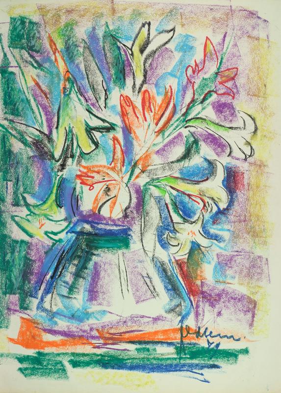 Vaas met bloemen, 1979