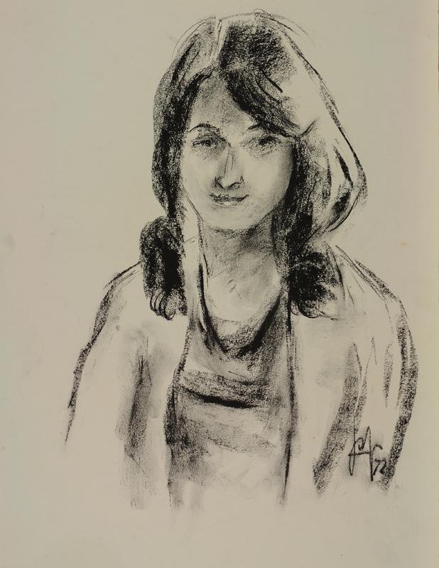 Jonge vrouw, 1972