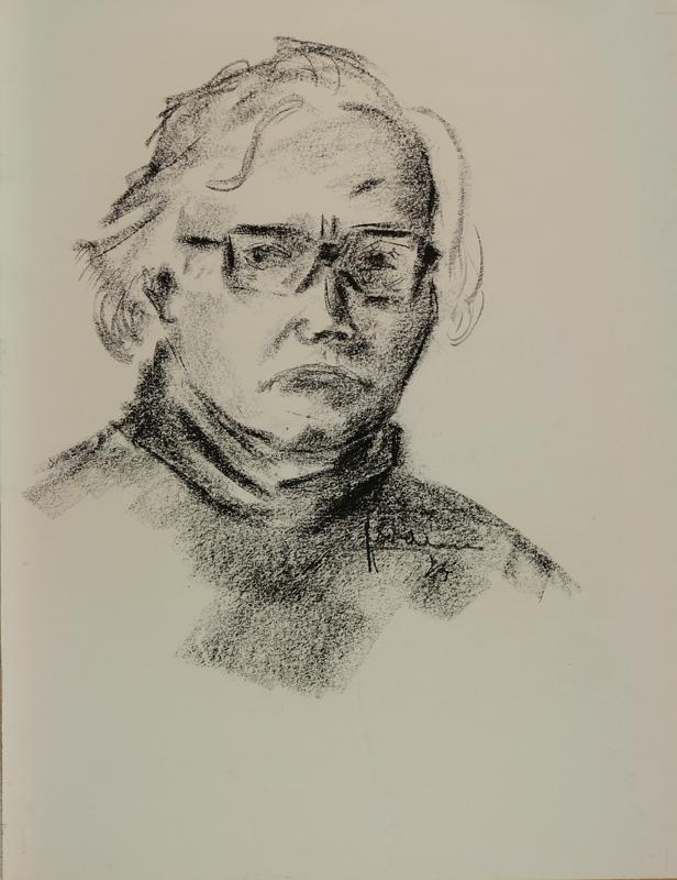 Zelfportret, 1974