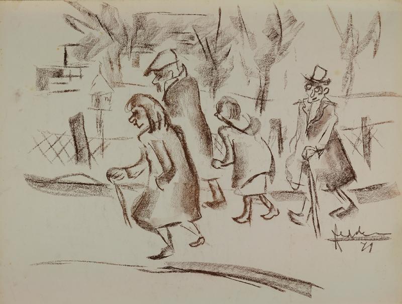 Aan de wandel, 1971