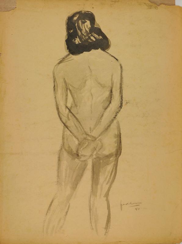 Naakt studie, 1951