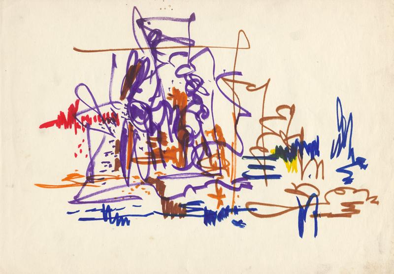 Expresionistische schets