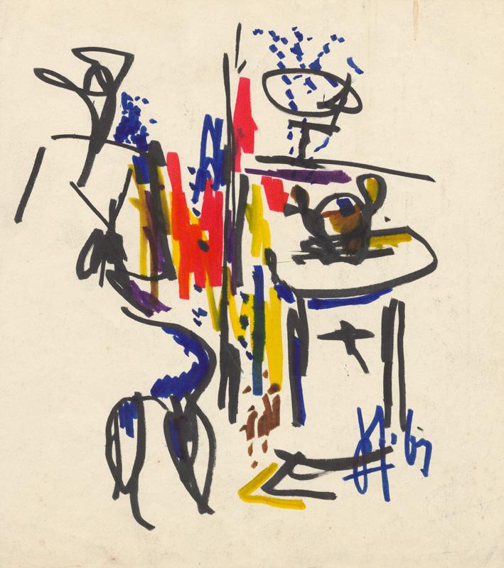 Abstracte schets