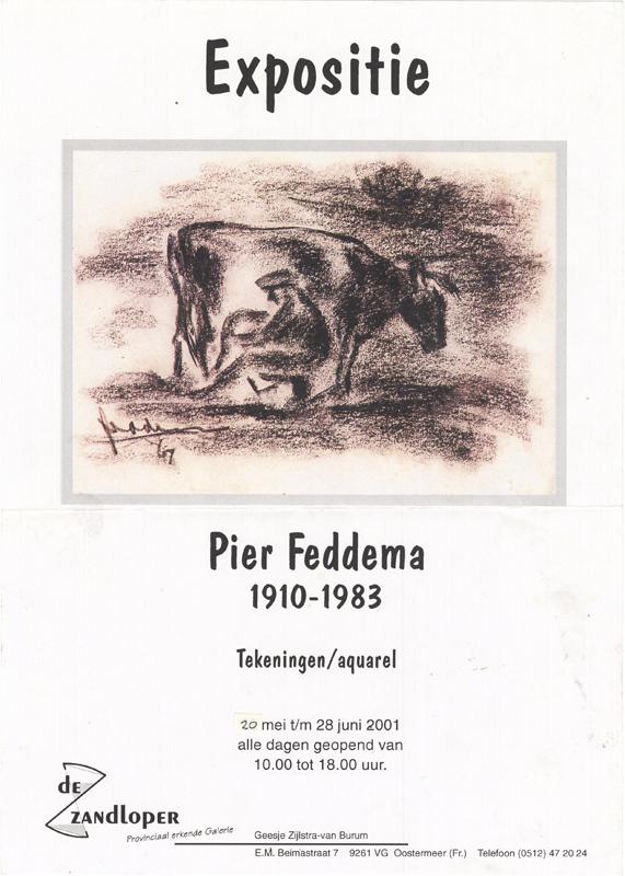 Expositie Pier Feddema
