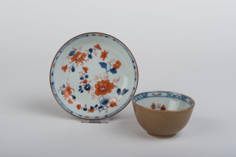 Kom van Chinees porselein met bloemdecor