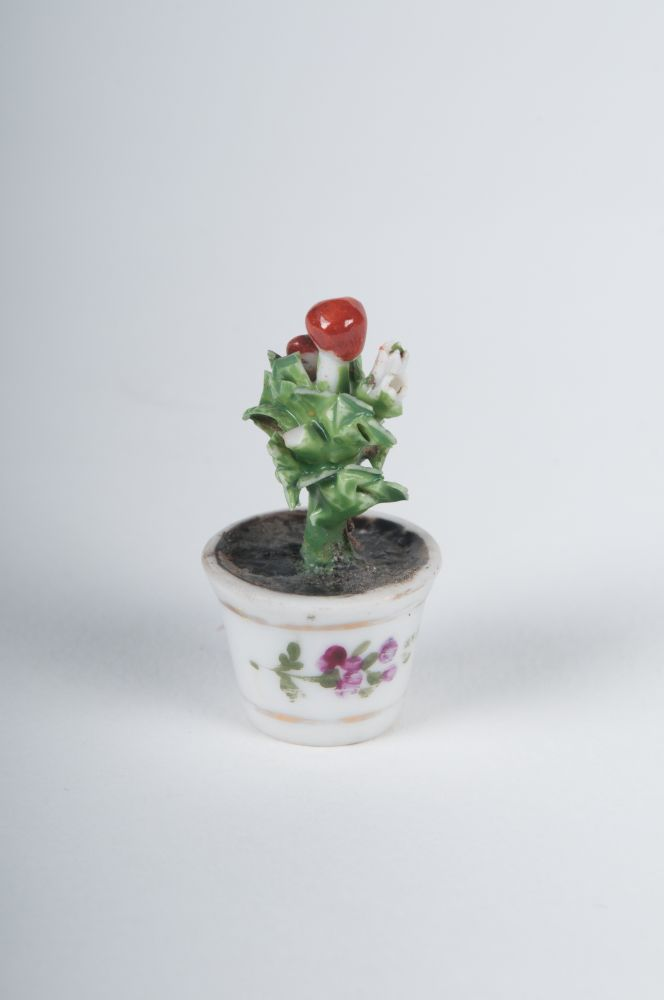 Duits miniatuur bloempotje
