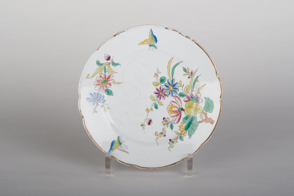 Nederlandse gebaksschotel met Chinese decoratie