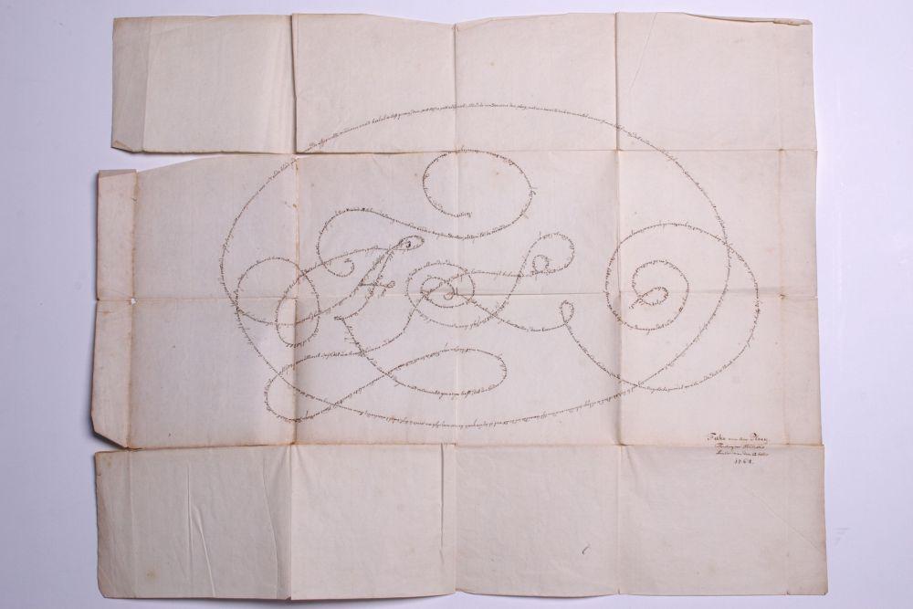 'Album amicorum of wit der Vrienden van Aeschinus Saagmans I : U : Stud : H : T te Franeker 17 3/27 61'